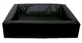 Hondenmand Bia Bed Hoes Zwart 70 cm-0