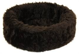 Hondenmand bontmand bruin 85 cm-0