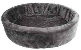 Hondenmand bontmand grijs 66 cm-0