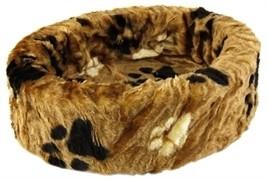 Hondenmand bontmand poot bruin 74 cm-0