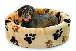 Hondenmand Poot Grijs 110CM-5215