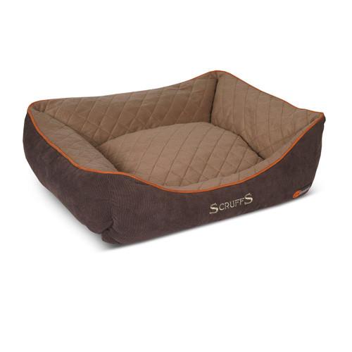 Hondenmand Scruffs Thermal Box bed Bruin 90 cm-0