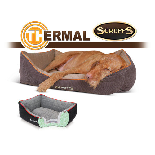 Hondenmand Scruffs Thermal Box bed Bruin 90 cm-5400