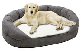 Hondenmand Ortho Ovaal Grijs 100CM-0