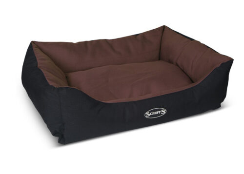 Hondenmand Expedition Box bed Chocolate L-0