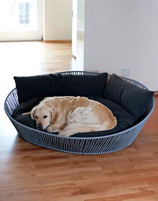 Hondenmand Siro Twist Oval Graphite-0