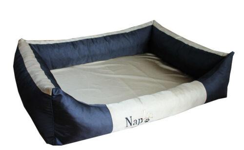 Hondenmand Napzzz Oford Duo Zwart Beige 120 cm-0