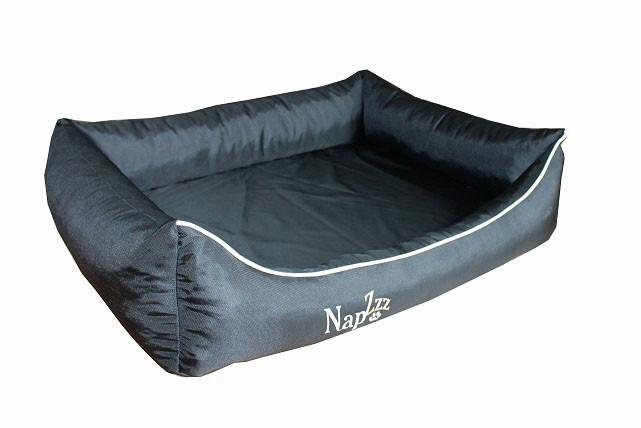 Hondenmand Napzzz Oxford Zwart 80 cm-9774