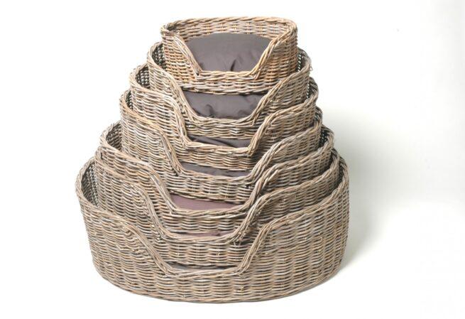 Hondenmand Surplus Rotan Basket-9541