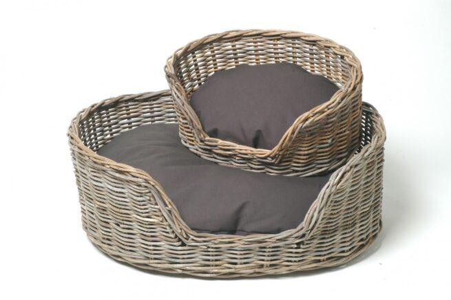 Hondenmand Surplus Rotan Basket-9540