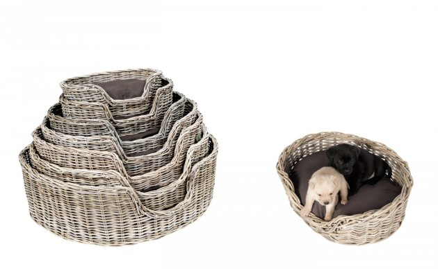 Hondenmand Surplus Rotan Basket-9530