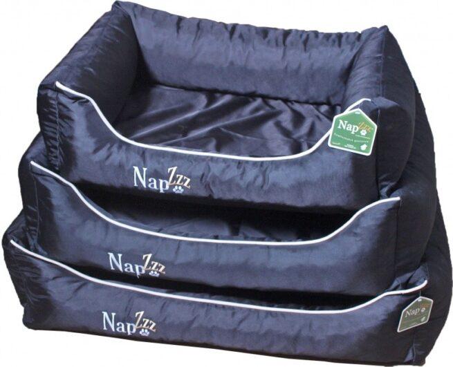Hondenmand Napzzz Oxford Zwart 70cm-11721