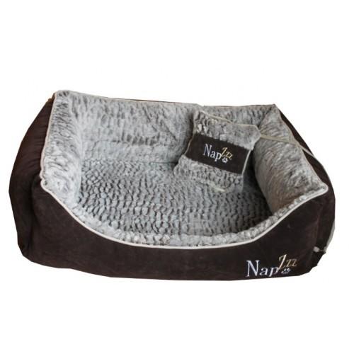 Hondenmand Napzzz Super Soft Bruin 70cm-0