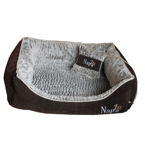 Hondenmand Napzzz Super Soft Bruin-12002