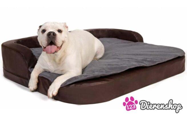 Hondenmand Orthopedisch Medical Plus Bruin 100cm-0