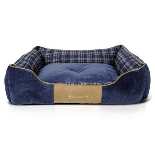 Hondenmand Scruffs Highland Box Bed Blauw XL-0