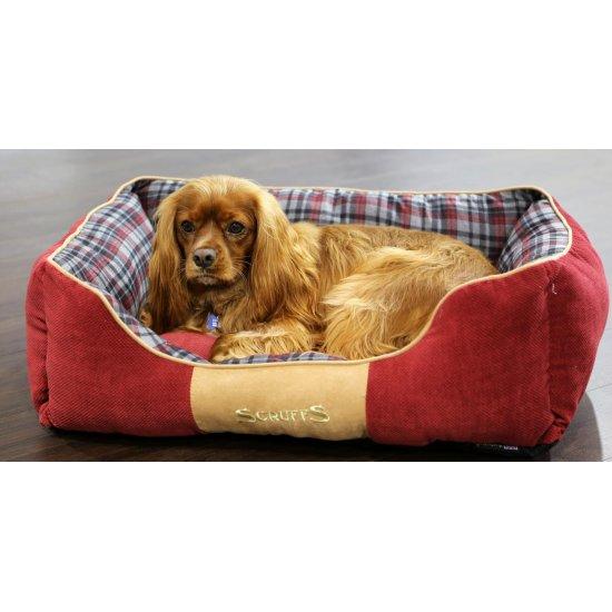 Hondenmand Scruffs Highland Box Bed Rood-13800