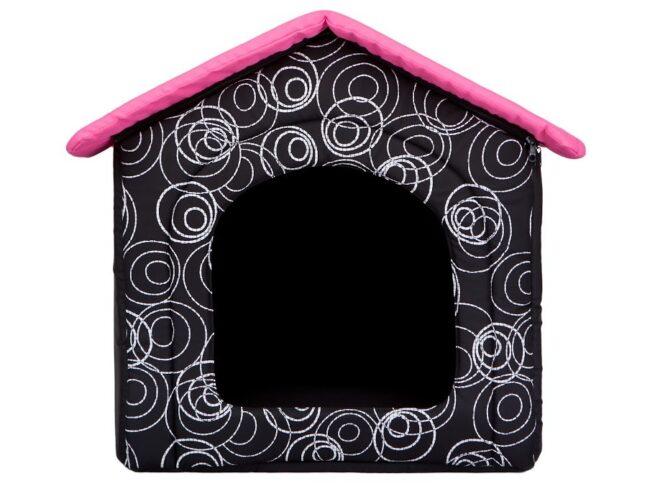 Hondenhuis Design Roze-13819