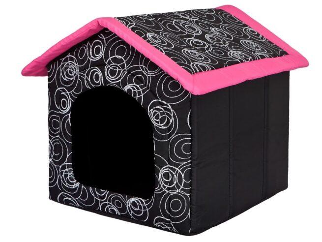 Hondenhuis Design Roze-0
