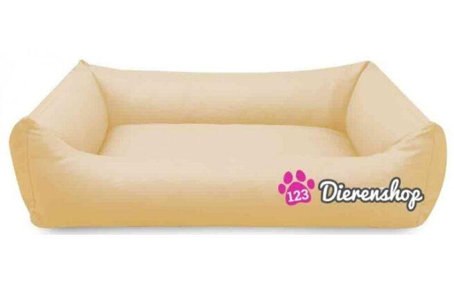 Hondenmand Crème Kunstleer 80cm-0