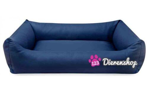 Hondenmand Marineblauw Kunstleer 80cm-0
