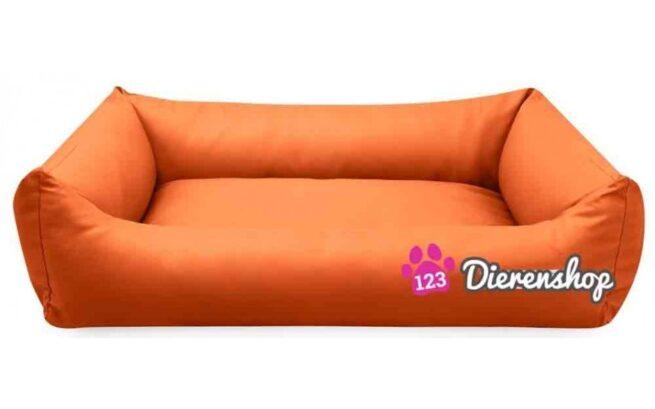 Hondenmand Oranje Kunstleer 80cm-0