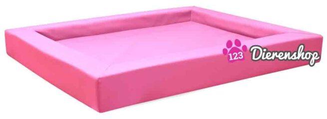 Hondenmand Premium Kunstleer Roze 110cm-0