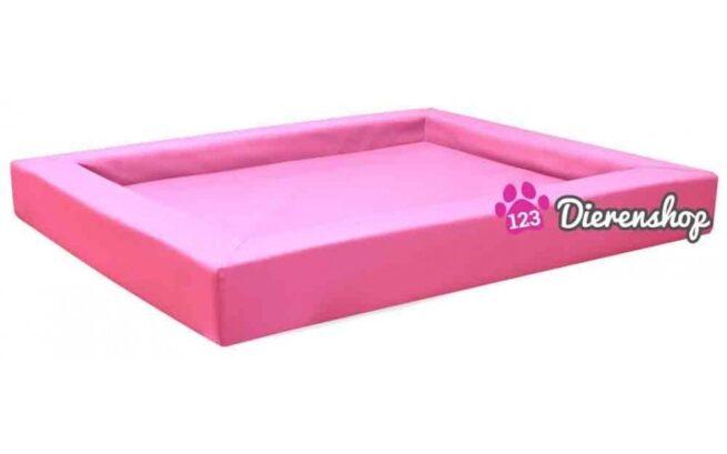 Hondenmand Premium Kunstleer Roze 130cm-0
