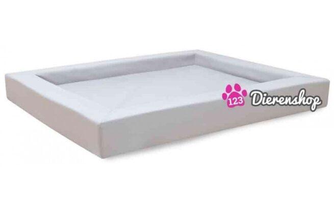 Hondenmand Premium Kunstleer Wit 110cm-0