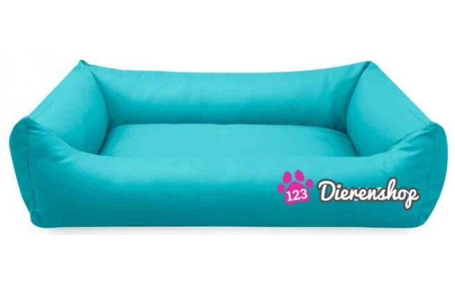Hondenmand Turquoise Kunstleer 155cm-0
