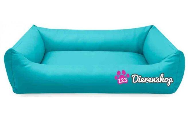 Hondenmand Turquoise Kunstleer 80cm-0