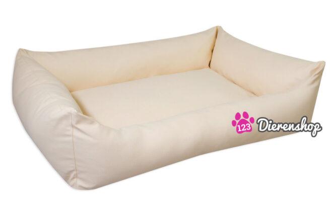 Hondenmand Crème Kunstleer 80cm-14002