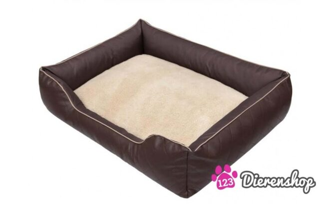 Hondenmand Indira Prestige Bruin-0