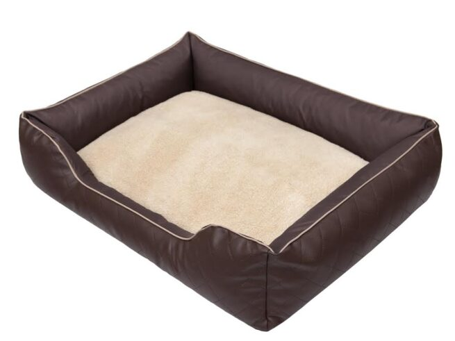 Hondenmand Indira Prestige Bruin 65cm-0