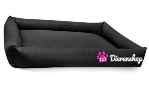 Hondenmand Puk Kunstleer Zwart 100cm-0