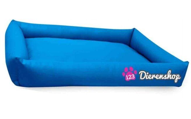 Hondenmand Puk Kunstleer Blauw 120cm-0