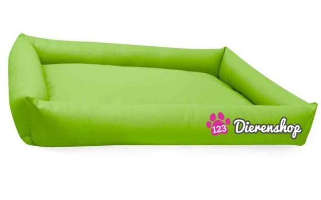 Hondenmand Puk Kunstleer Lime 120cm-0