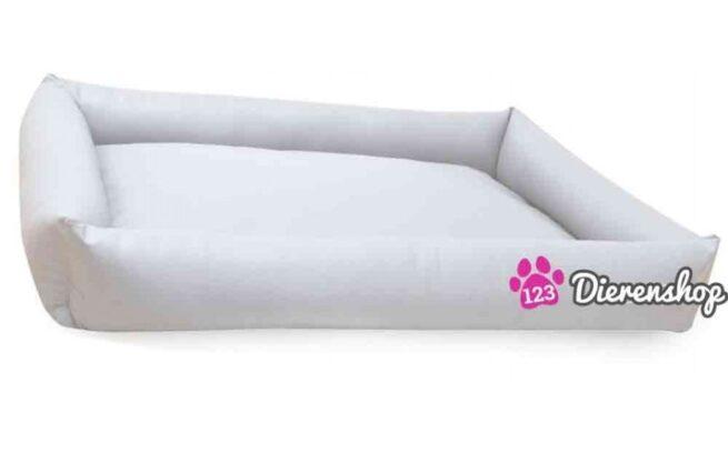 Hondenmand Puk Kunstleer Wit 100cm-0