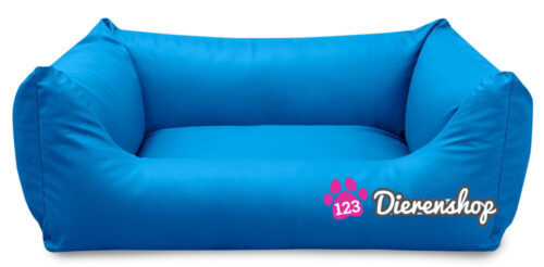 Hondenmand King Deluxe Blauw 120 cm-0
