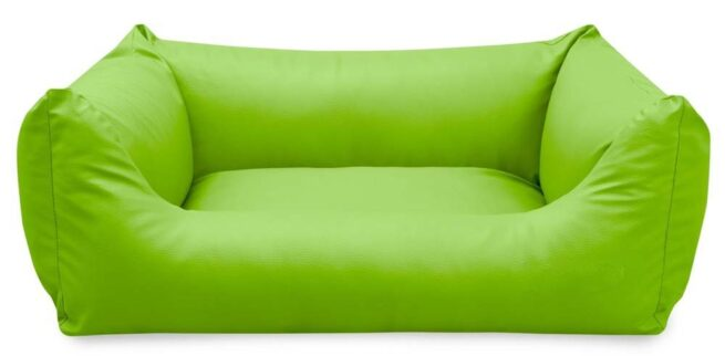 Hondenmand King Deluxe Lime-0