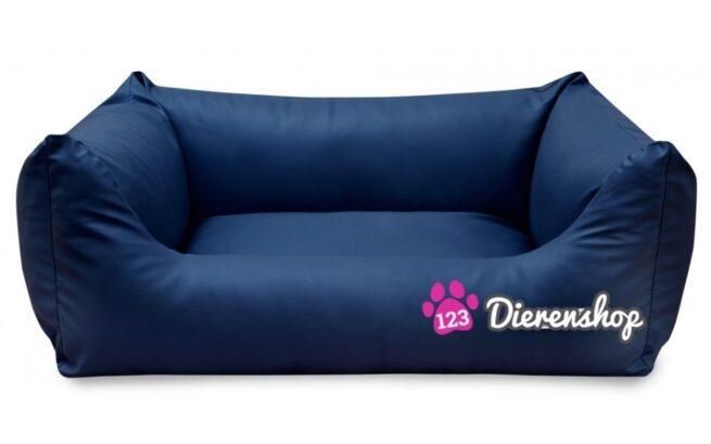 Hondenmand King Deluxe Marineblauw 120 cm-0