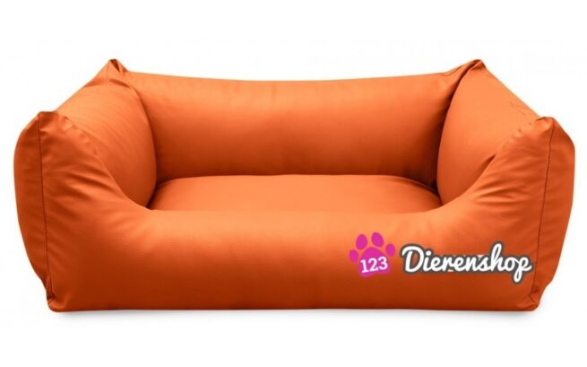 Hondenmand King Deluxe Oranje 105cm-0