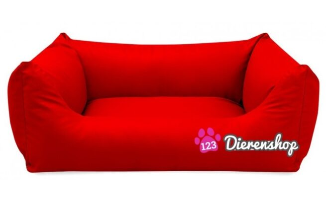 Hondenmand King Deluxe Rood 120 cm-0
