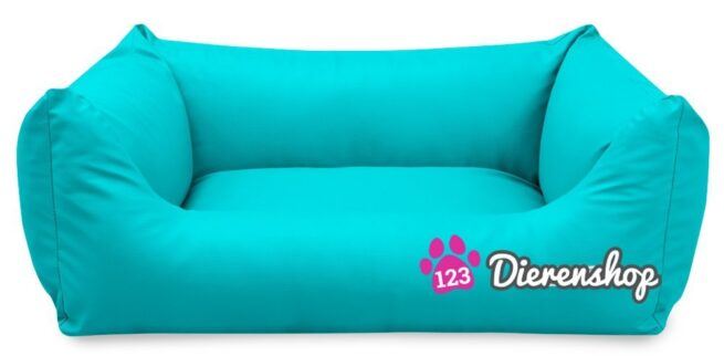 Hondenmand King Deluxe Turquoise-18096