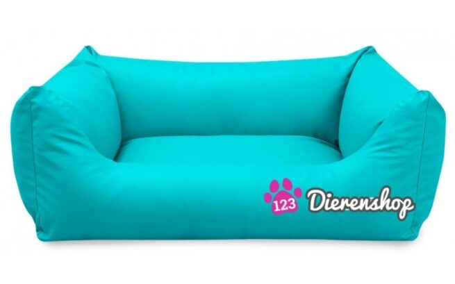 Hondenmand King Deluxe Turquoise 120cm-0