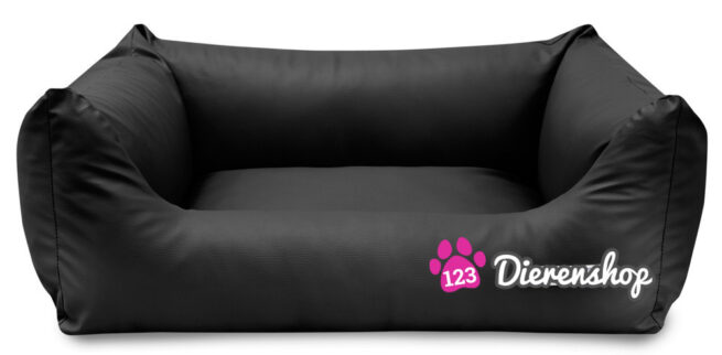 Hondenmand King Deluxe Zwart 105cm-0