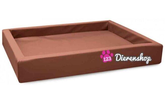 Hondenmand Lounge Bed Cognac 80 cm-0