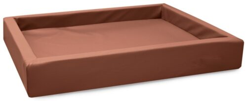 Hondenmand Lounge Bed Cognac-0