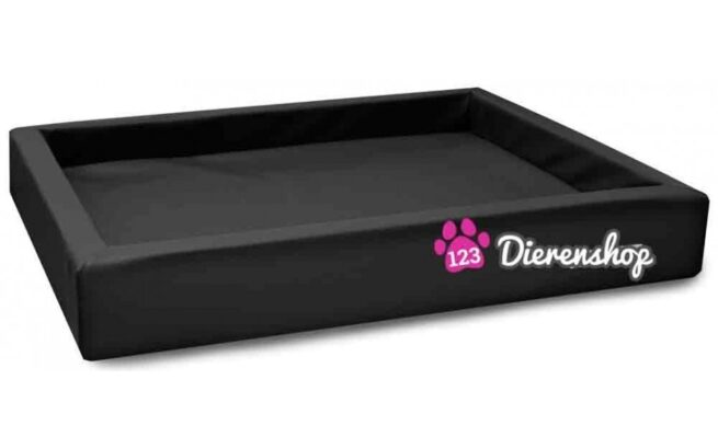 Hondenmand Lounge Bed Zwart 100cm-0