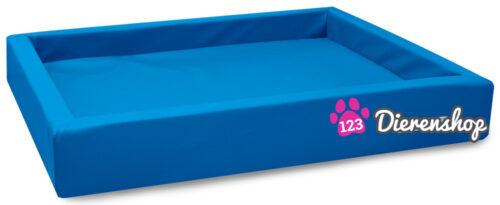 Hondenmand Lounge Bed Blauw 80 cm-0